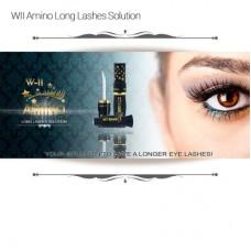W-II Amino Long Lashes Solution 1 Botol Asli Ez Shop Tv Shopping Izin BPOM